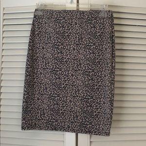 Size medium leopard print skirt